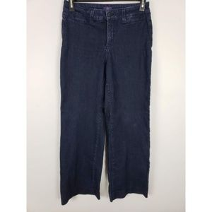 NYDJ Wide Leg Denim Trouser Jeans